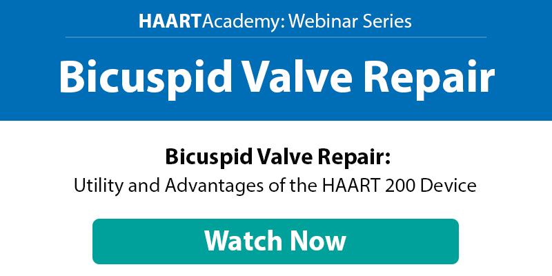 HAART-Academy-webinar-Bicuspid-Valve-Repair